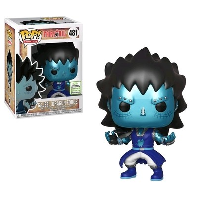 PRE-ORDER Fairy Tail - Gajeel with Dragon's Scale Pop! Vinyl Figure (2019 Spring Convention Exclusive) ***FULL PAYMENT ONLY***