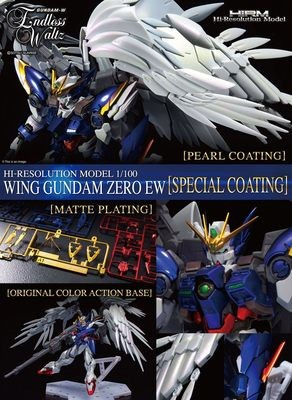 PRE-ORDER HI-RESOLUTION MODEL 1/100 WING GUNDAM EW