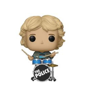 The Police Stewart Copeland Pop! Vinyl Figure