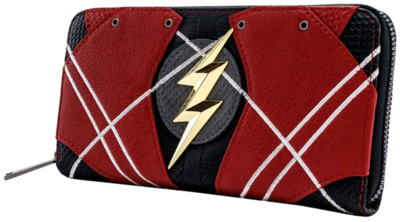 "PRE-ORDER Justice League (2017) - The Flash 8"" Faux Leather Zip-Around Wallet"