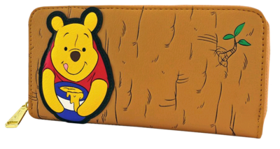"PRE-ORDER Winnie the Pooh - Pooh in Tree 8"" Faux Leather Zip-Around Wallet"