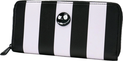 "PRE-ORDER The Nightmare Before Christmas - Jack Skellington 8"" Faux Leather Zip-Around Wallet"