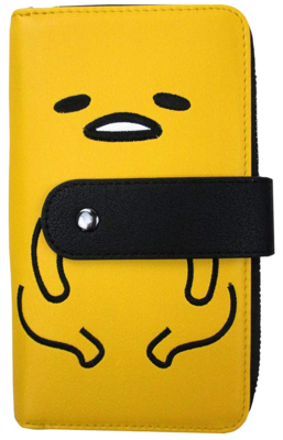 "PRE-ORDER Sanrio - Gudetama 6"" Faux Leather Zip-Around Wallet"