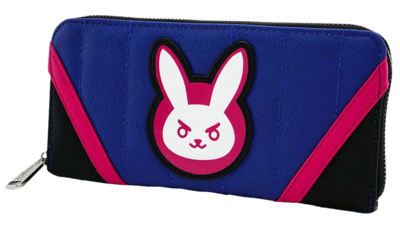 "PRE-ORDER Overwatch - D.Va 8"" Faux Leather Zip-Around Wallet"