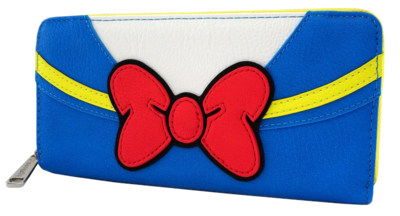 "PRE-ORDER Disney - Donald Duck 8"" Faux Leather Zip-Around Wallet"