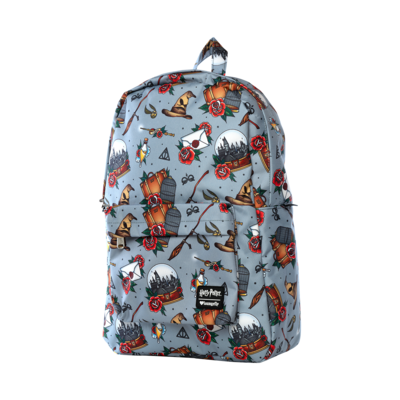 "PRE-ORDER Harry Potter - Tattoo Print 18"" Backpack"