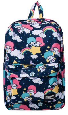 "PRE-ORDER Sanrio - Little Twin Stars Print 18"" Backpack"