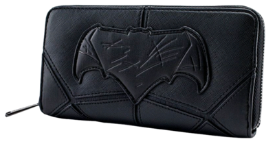 "PRE-ORDER Justice League (2017) - Batman 8"" Faux Leather Zip-Around Wallet"