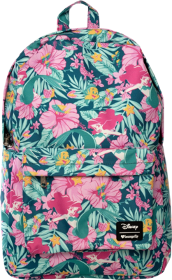 "PRE-ORDER The Little Mermaid - Ariel Hibiscus Print 18"" Backpack"