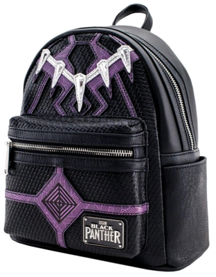 "PRE-ORDER Black Panther (2018) - Black Panther 8"" Faux Leather Mini Backpack"