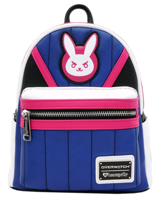 "PRE-ORDER Overwatch - D.Va 10"" Faux Leather Mini Backpack"
