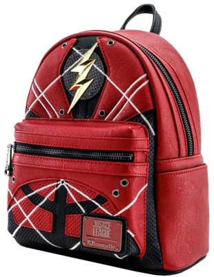 "PRE-ORDER Justice League (2017) - The Flash 10"" Faux Leather Mini Backpack"