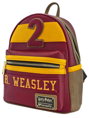 "PRE-ORDER Harry Potter - Ron Weasley Gryffindor 10"" Faux Leather Mini Backpack"