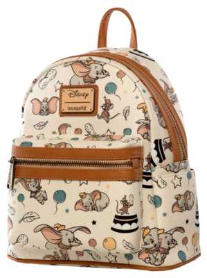 "PRE-ORDER Dumbo - Dumbo 10"" Faux Leather Mini Backpack"