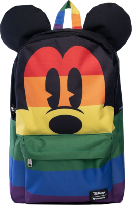 "PRE-ORDER Disney - Mickey Mouse Rainbow 18"" Backpack"