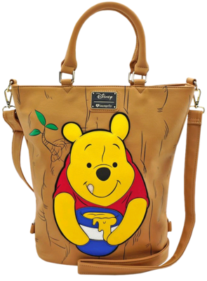 "PRE-ORDER Winnie the Pooh - Pooh in Tree 20"" Faux Leather Tote Bag"