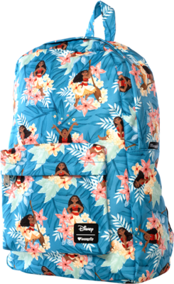 "PRE-ORDER Moana - Moana Leaves Print 17"" Backpack"
