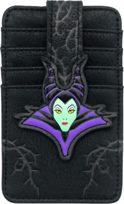 "PRE-ORDER Sleeping Beauty - Maleficent 5"" Faux Leather Card Wallet"