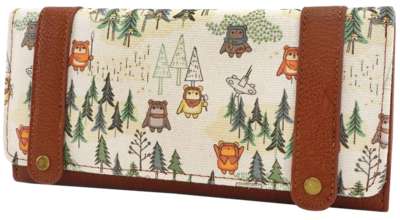 "PRE-ORDER Star Wars Episode VI: Return of the Jedi - Ewok Forest 8"" Trifold Wallet"