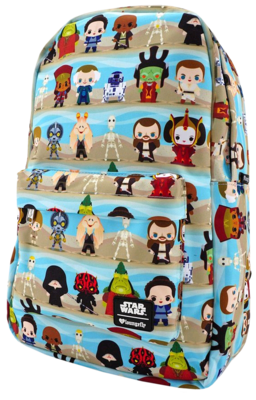 "PRE-ORDER Star Wars Episode I: The Phantom Menace - Chibi Character 18"" Backpack"