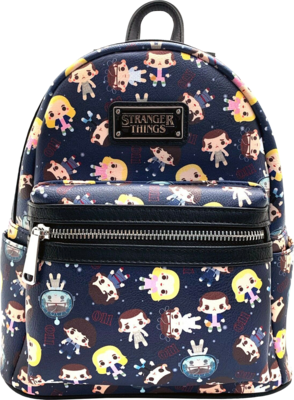 "PRE-ORDER Stranger Things - Eleven Chibi 10"" Faux Leather Mini Backpack"