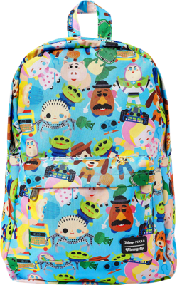 "PRE-ORDER Toy Story - Chibi Print 18"" Backpack"