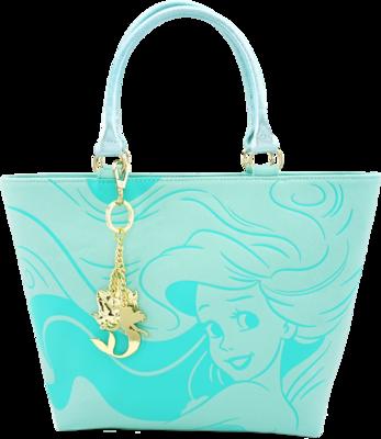 "PRE-ORDER The Little Mermaid - Ariel Ocean 14"" Faux-Leather Tote Bag"