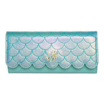 """PRE-ORDER The Little Mermaid - Ariel Ocean 8"""" Faux-Leather Bifold Wallet"""