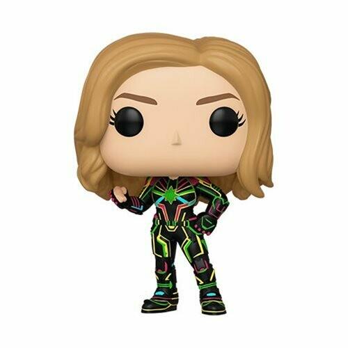 PRE-ORDER Captain Marvel Neon Suit Pop! Vinyl Figure