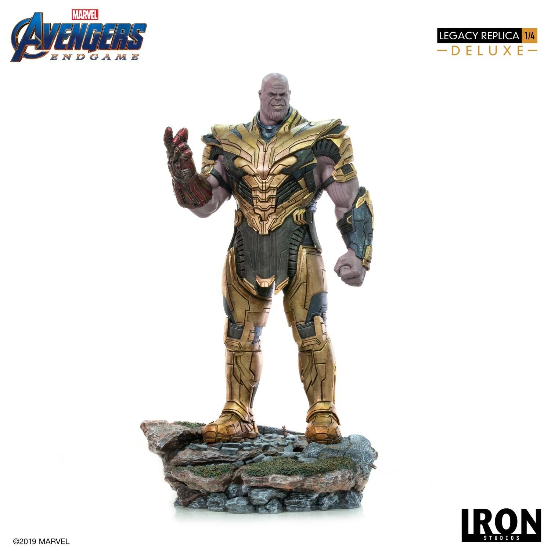 PRE-ORDER Thanos DELUXE Legacy Replica 1/4 - Avengers: Endgame