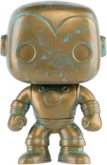 PRE-ORDER Exclusive The Avengers - Iron Man Patina 80th Anniversary Pop! Vinyl Figure