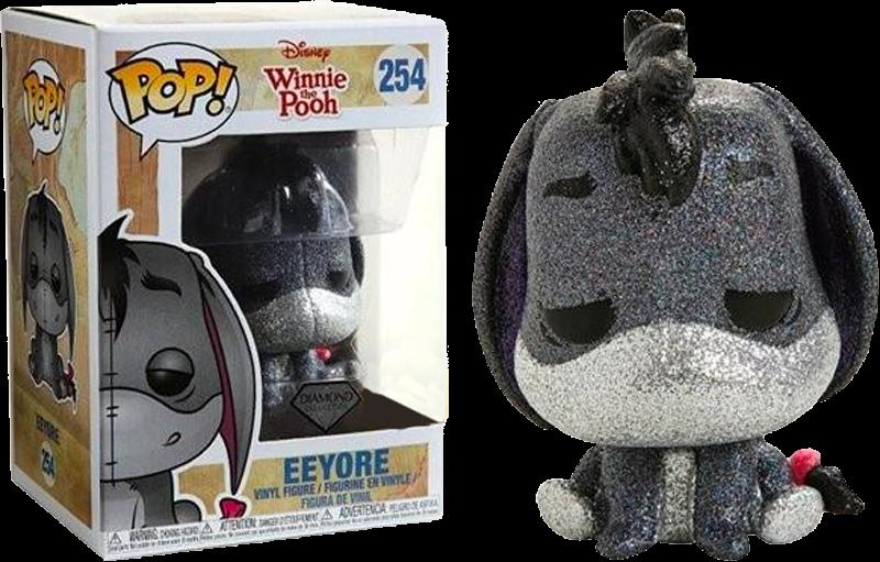 PRE-ORDER Exclusive Winnie The Pooh Eeyor Diamond Glitter Funko POP! Vinyl Figure