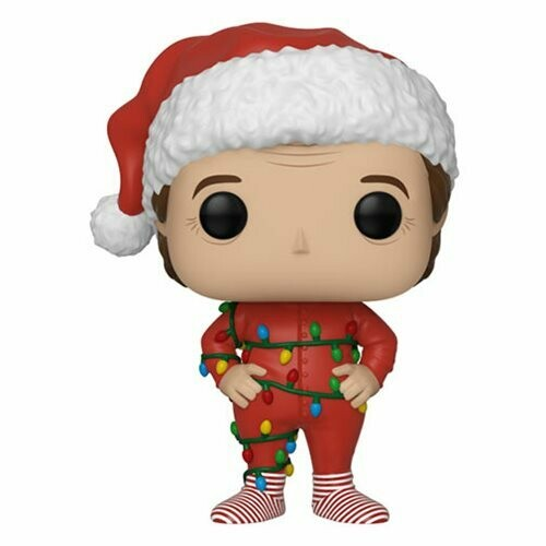 PRE-ORDER Santa Claus with Christmas Lights Pop! Vinyl Figure