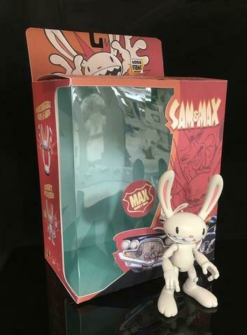 "PRE-ORDER Sam & Max Series Wave 1 Max 6"" Action Figure"