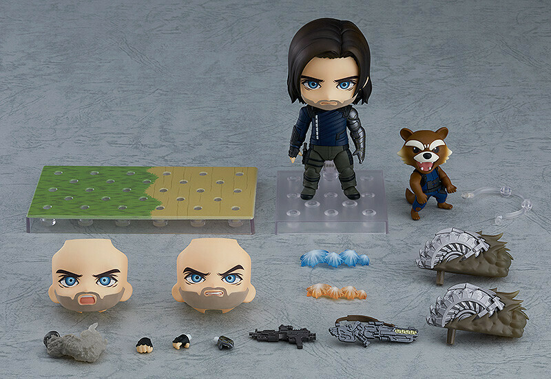 PRE-ORDER Nendoroid Winter Soldier: Infinity Edition DX Ver.