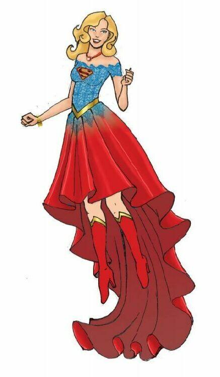PRE-ORDER DCCOM Couture de Force Super Girl