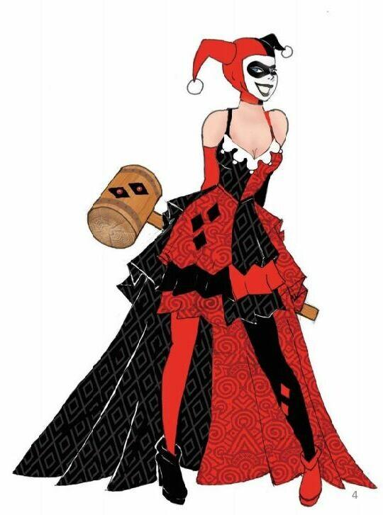 PRE-ORDER DCCOM Couture de Force Harley Quinn