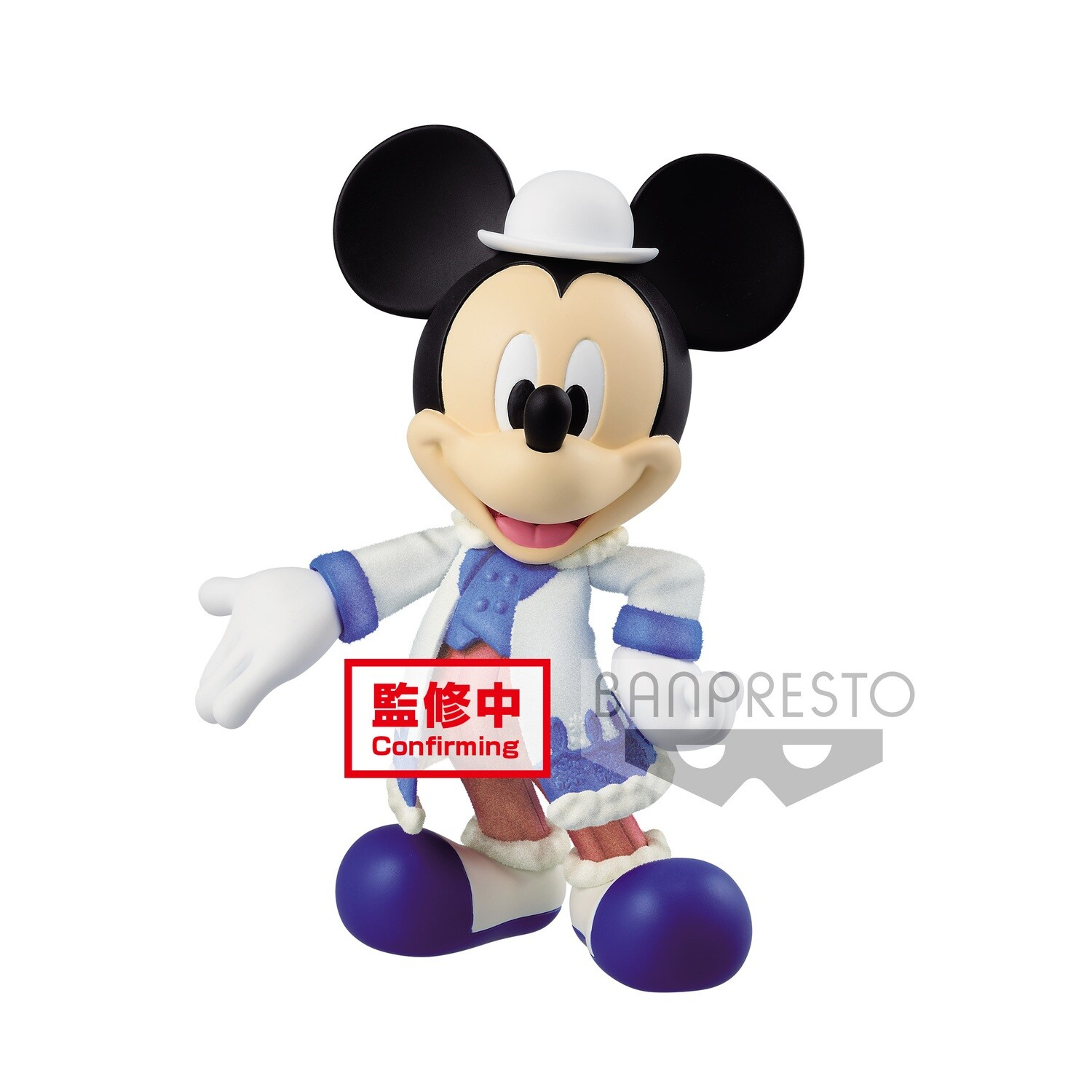PRE-ORDER Disney Character Fluffy Puffy Mickey Mouse