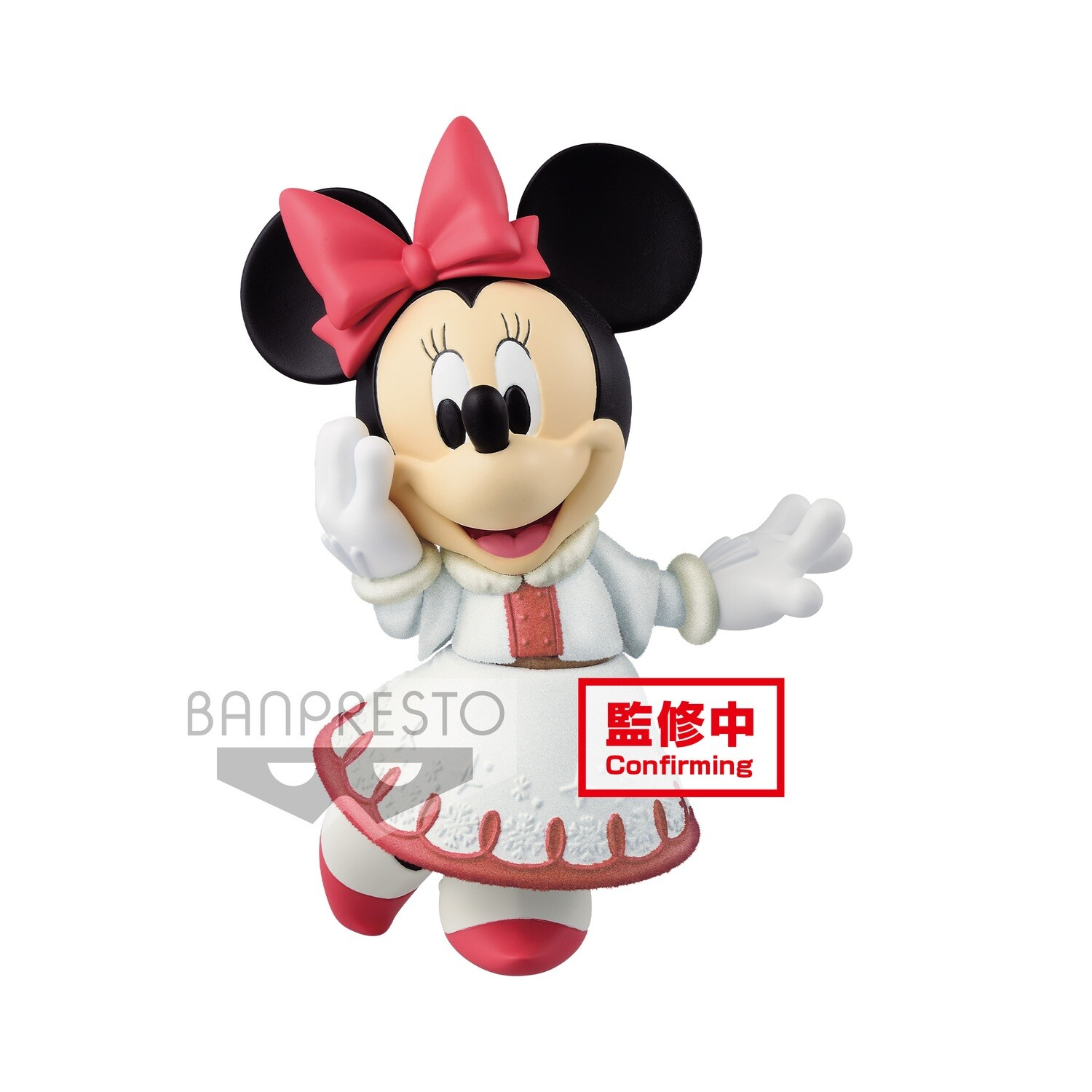 PRE-ORDER Disney Character Fluffy Puffy Minnie Mouse