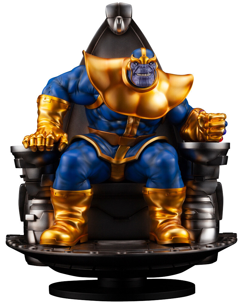 PRE-ORDER Thanos on Space Throne Fine Art Statue
