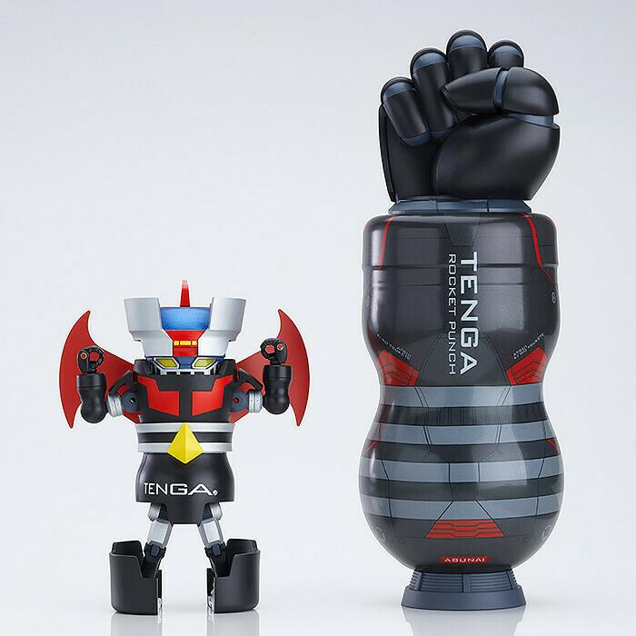 PRE-ORDER Mazinger TENGA Robo Mega TENGA Rocket Punch Set (First Run Limited)