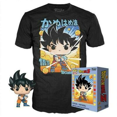 POP! Tees: Dragon Ball Z Goku T-Shirt & Goku Box Set