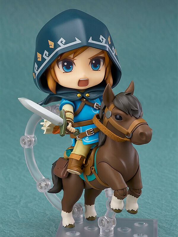 PRE-ORDER Nendoroid Link: Breath of the Wild Ver. DX Edition(3rd-run)