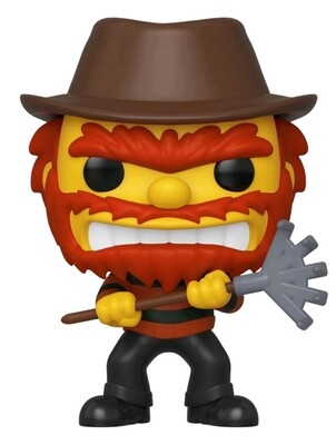 Simpsons - Evil Groundskeeper Willie Fall Convention Exclusive Pop! Vinyl Figure