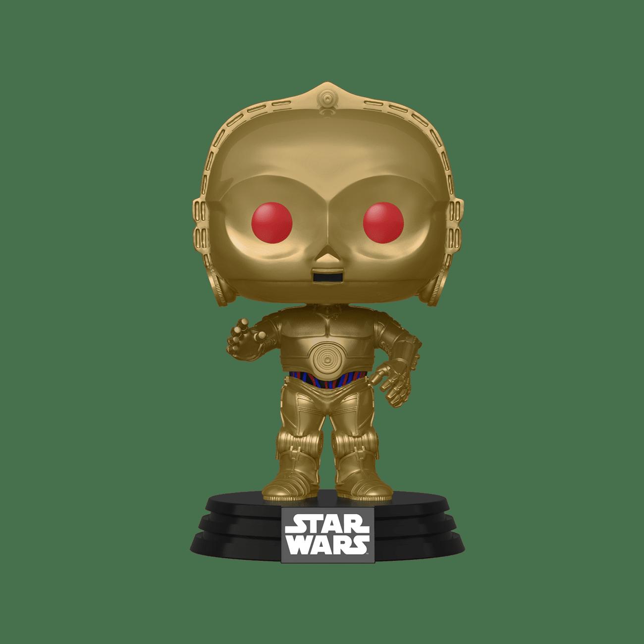 Star Wars: Rise of Skywalker C-3PO Red Eye Pop! Vinyl Figure