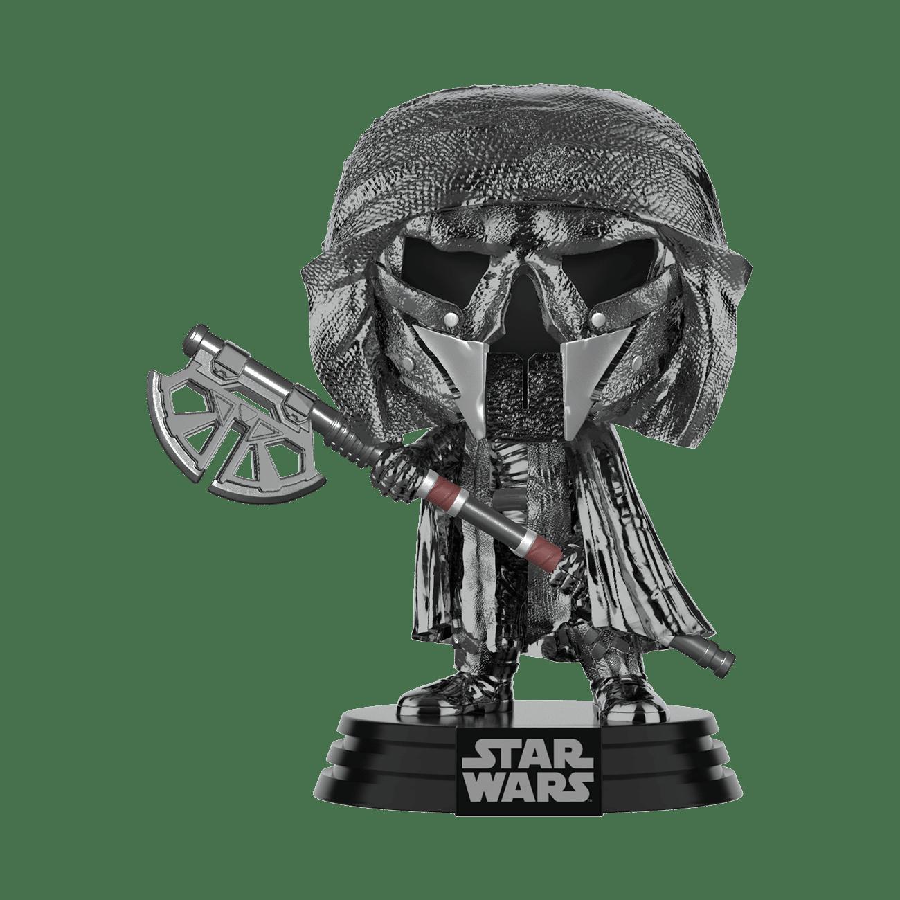PRE-ORDER Star Wars: The Rise of Skywalker Hematite Chrome Knight of Ren Axe Pop! Vinyl Figure