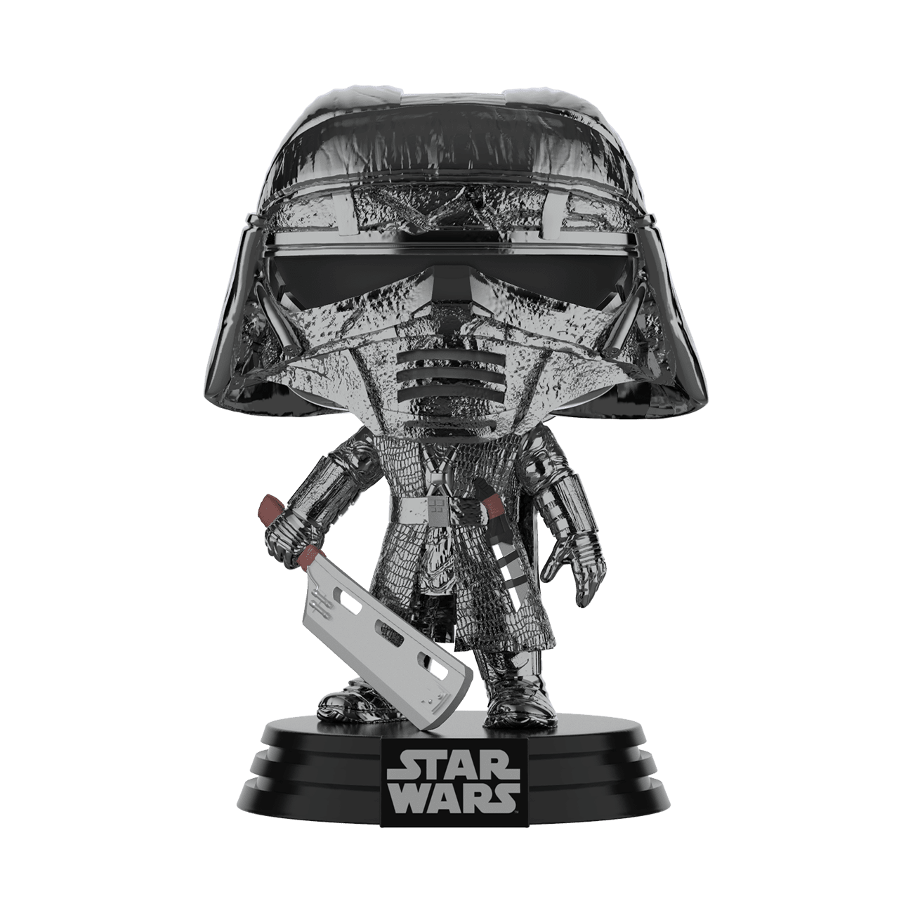 PRE-ORDER Star Wars: The Rise of Skywalker Hematite Chrome Knight of Ren Blade Pop! Vinyl Figure