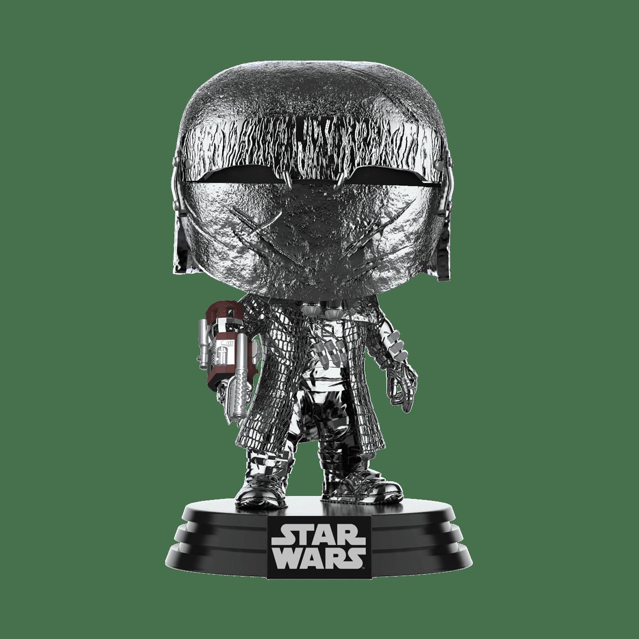 PRE-ORDER Star Wars: The Rise of Skywalker Hematite Chrome Knight of Ren Cannon Pop! Vinyl Figure