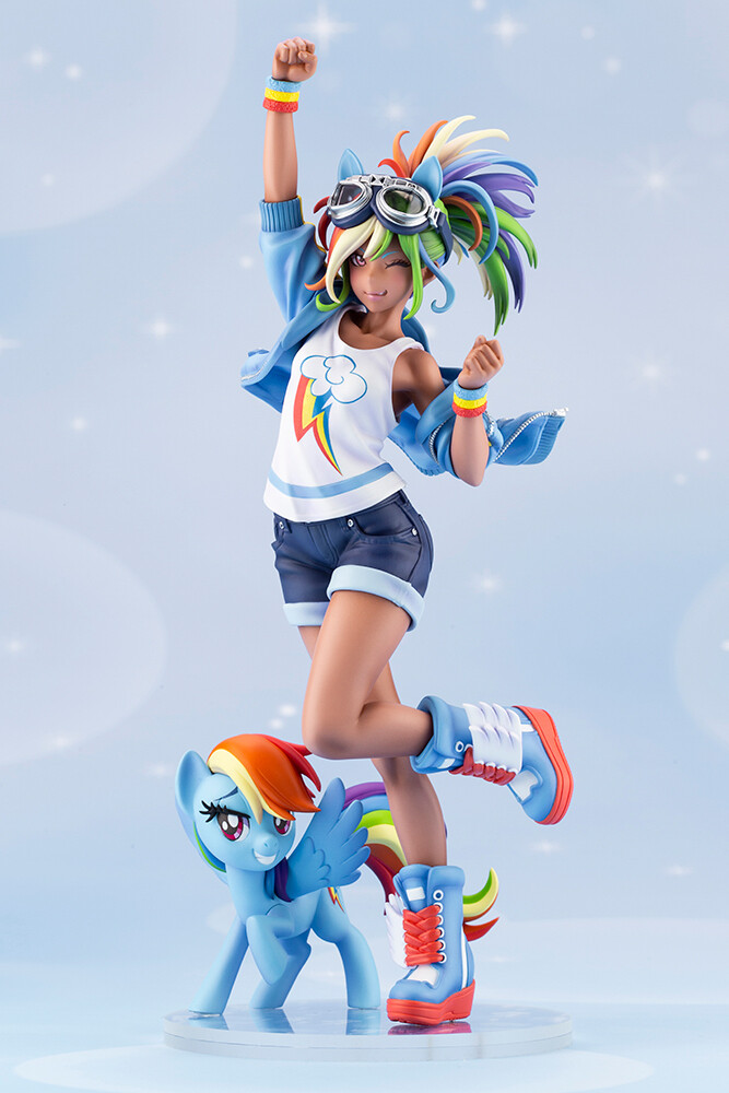 PRE-ORDER My LIttle Pony Rainbow Dash Bishoujo Statue