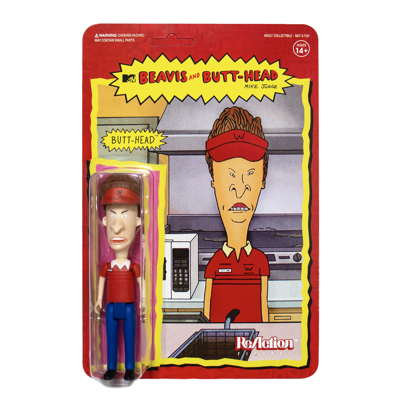 PRE-ORDER Beavis and Butt-Head reaction Figure - Burger World Butt-Head